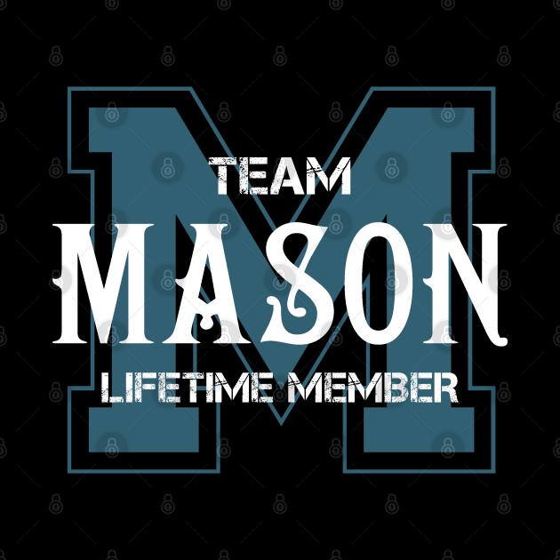 Team MASON Lifetime Member