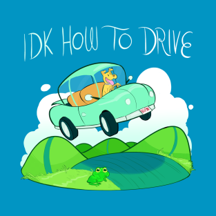 IDK HOW TO DRIVE t-shirts