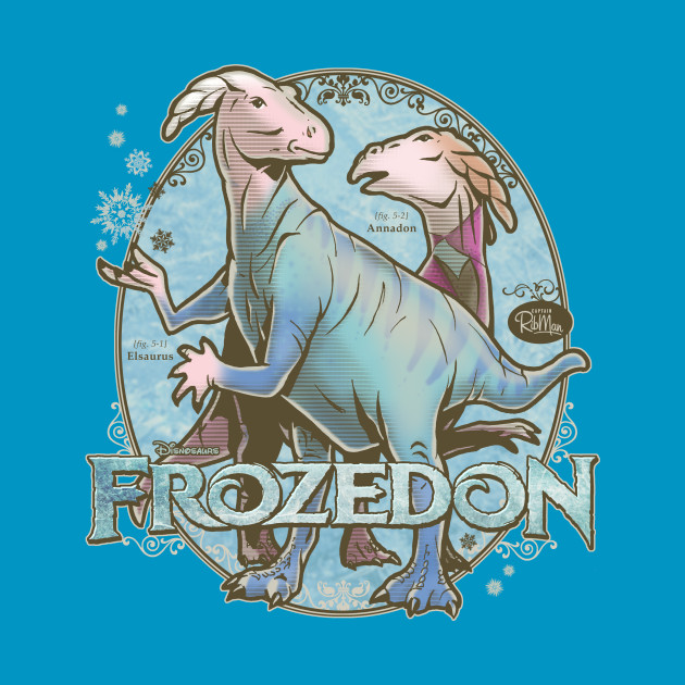 PREHISTORIC PRINCESS: Frozedon