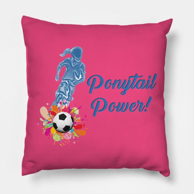 Ponytail Power (blue)