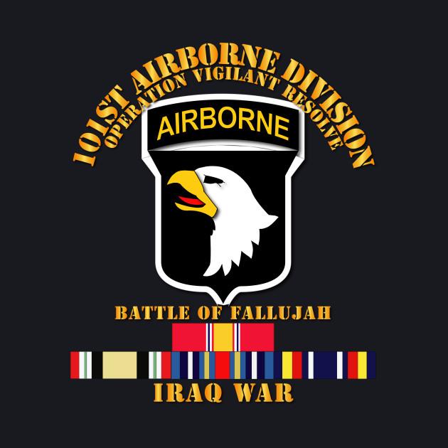 101st Airborne Div  w Iraq Svc - Fallujah