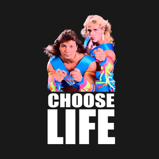 Choose Life Wham T-Shirt - Large Logo