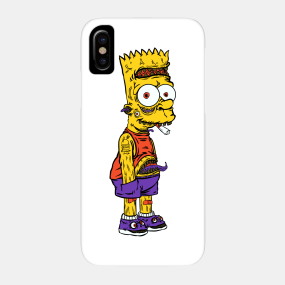 iphone xr simpsons case