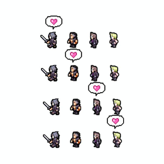 Pixel Final Fantasy XV LOVE