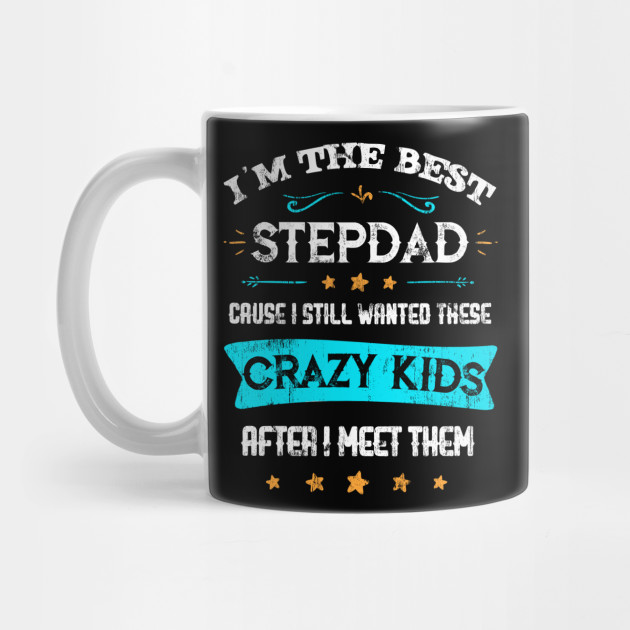 Mens Best Stepdad Bonus Daddy Father's Day Gift for Step-Father T-Shirt Mug