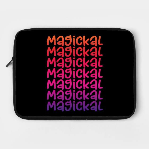 Magickal Rainbow Cheeky Witch