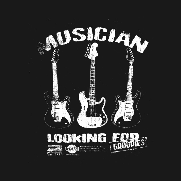 musician looking for groupies drumming t shirt teepublic. Black Bedroom Furniture Sets. Home Design Ideas