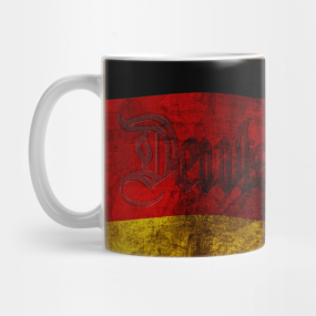German Flag - Vintage... Mug