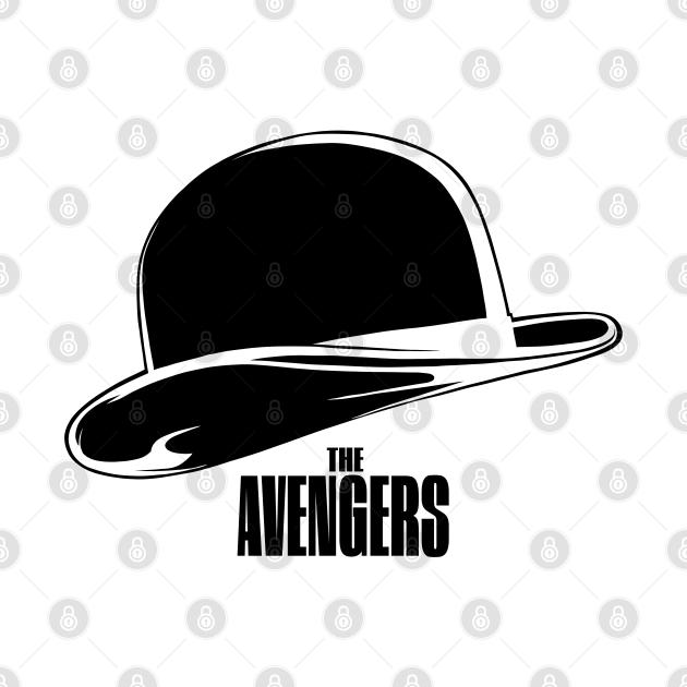 The Avengers uk tv series black