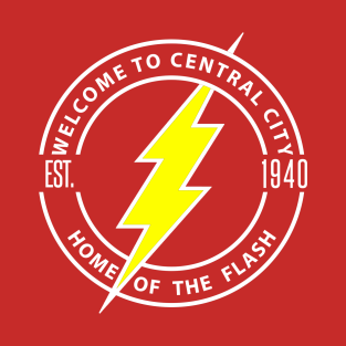 Central City (The Flash) t-shirts
