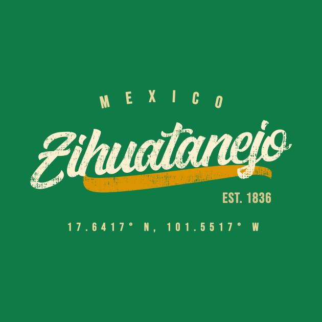Zihuatanejo Mexico Travel T shirt
