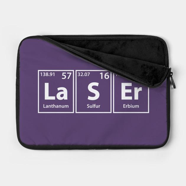 Laser (La-S-Er) Periodic Elements Spelling