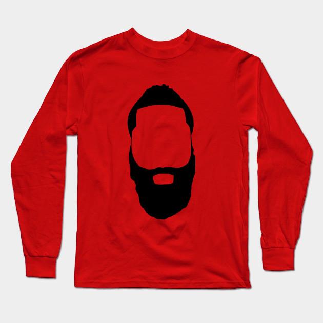 8c4f2598e09 James Harden - Fear The Beard! - James Harden - Long Sleeve T-Shirt ...