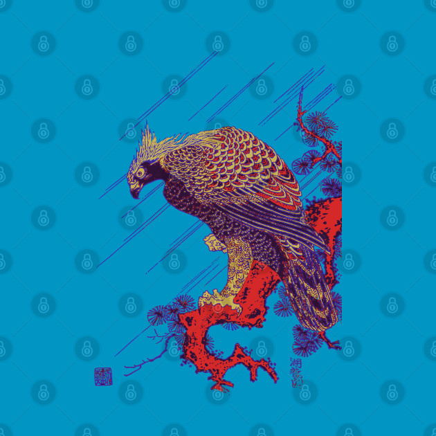 Splatter Art Falcon