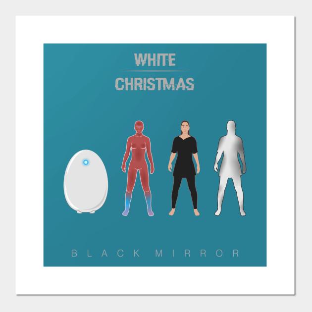 White Christmas Black Mirror Poster.White Christmas