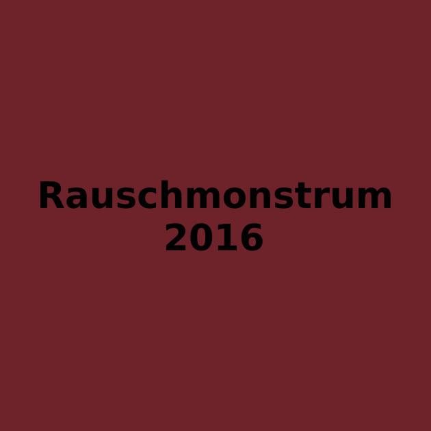 Rauschmonstrum 2016- Text