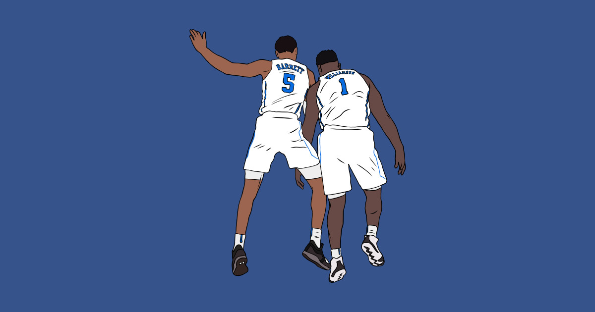 new arrival 01c28 2f0c6 RJ Barrett And Zion Williamson