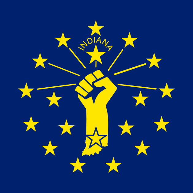 Indiana Power Flag