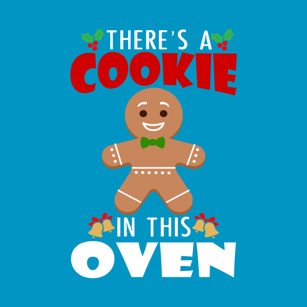 Cookie in the oven