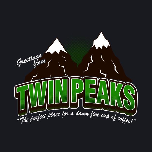 Greet. Twin Peaks (V2) - Green