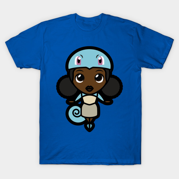 Girl In Squirtle Shirt