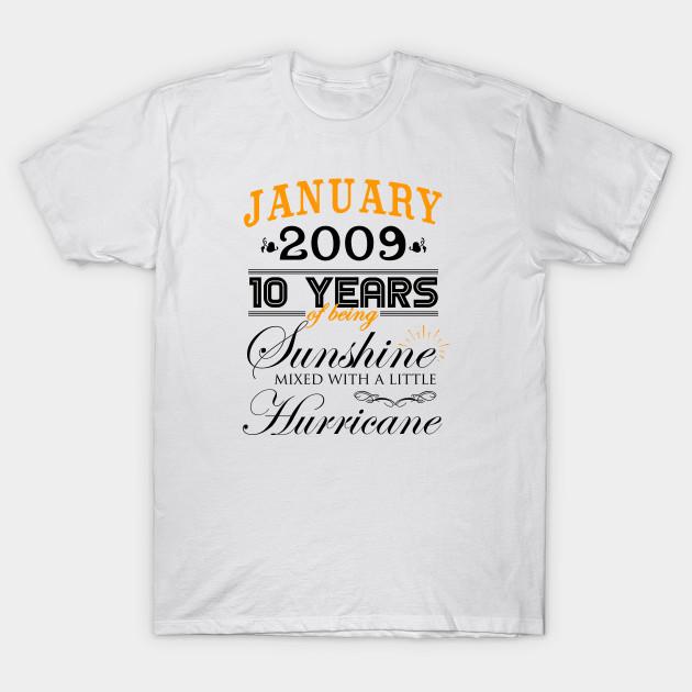 10 Year Wedding Anniversary.January 2009 Shirt 10th Wedding Anniversary 10 Years Of Marriage