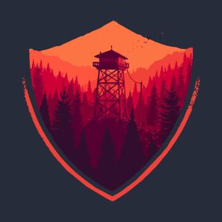 Firewatch: Campo Santo t-shirts