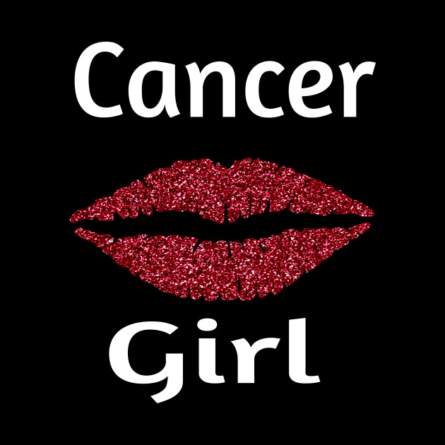 Cancer Girl Lips Zodiac Sign July August Birthday Month
