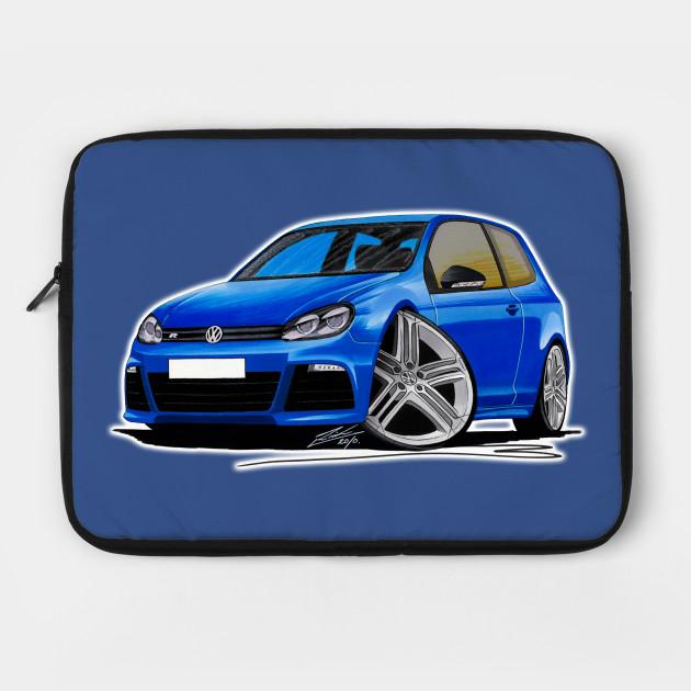 Golf (Mk6) R Blue