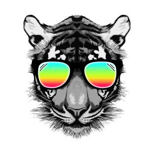 Summer Tiger t-shirts