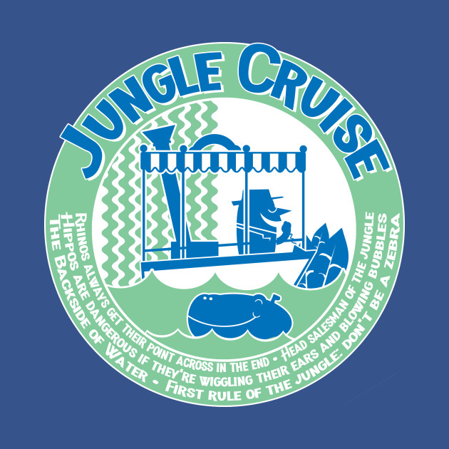 Jungle Cruise (blue and green)