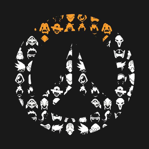 Overwatch Logo Silhouette