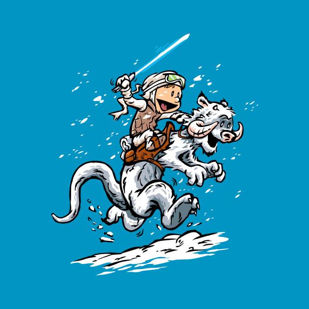 Calvin and Hoth