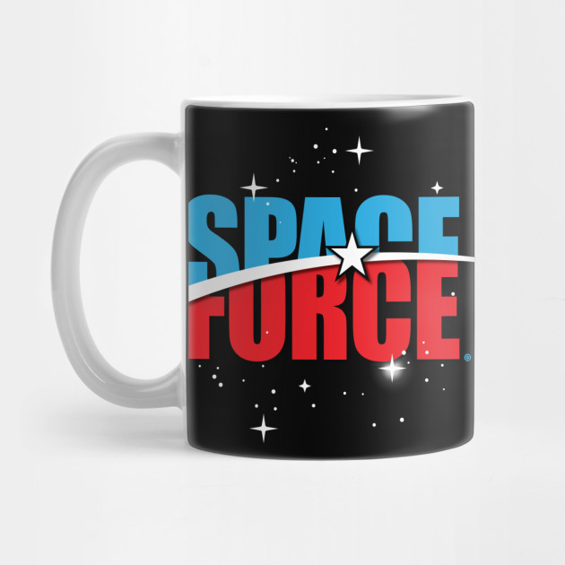 84c852156fc Space Force Two - Space Force Trump Bigly Usa Army Navy Marines ...