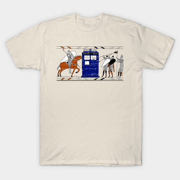 Tardis Bayeux Tapestry Doctor Who