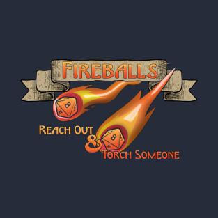 D&D Tee -  Fireballs