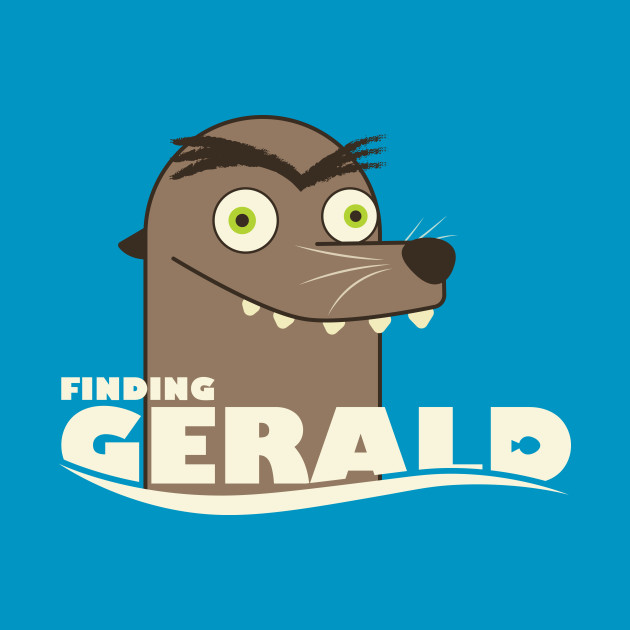 Finding Gerald Disney T Shirt TeePublic