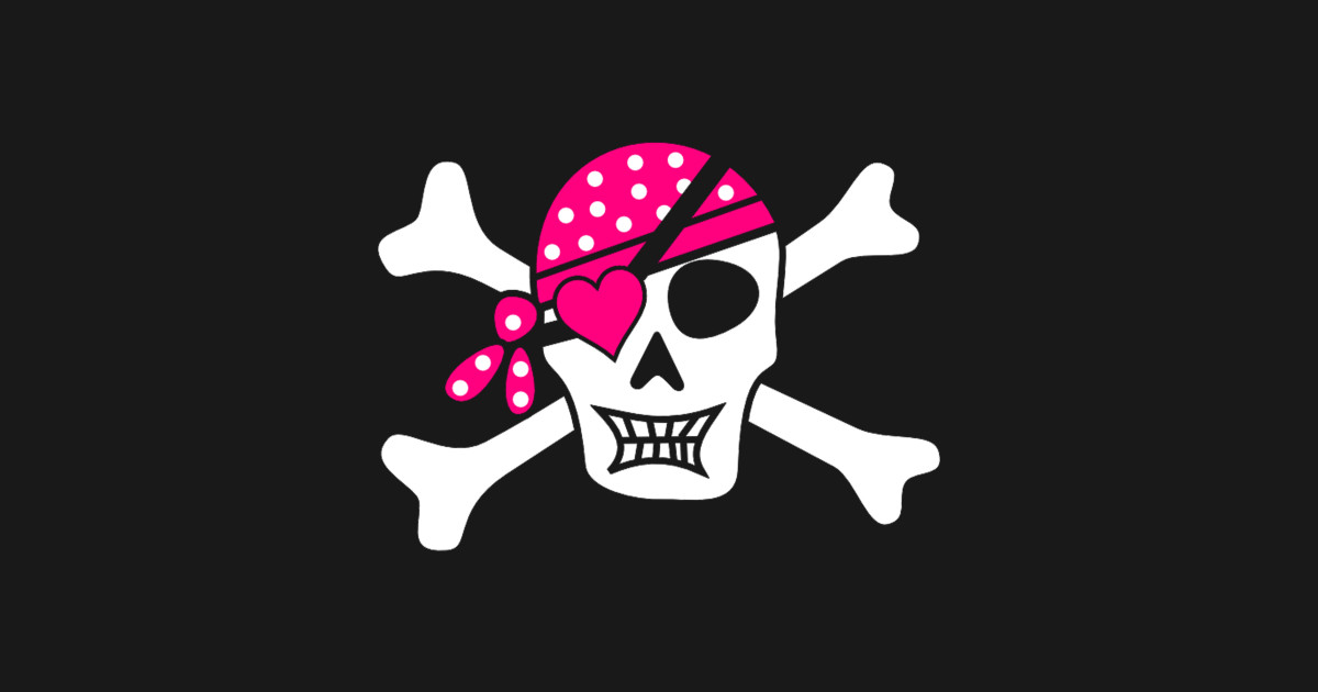Skull pirate love skull t shirt teepublic
