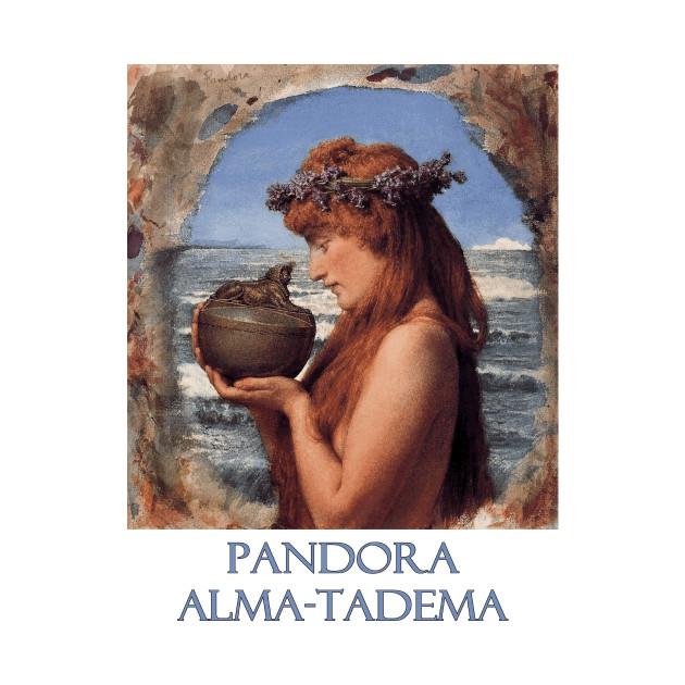 Pandora by Sir Lawrence Alma-Tadema