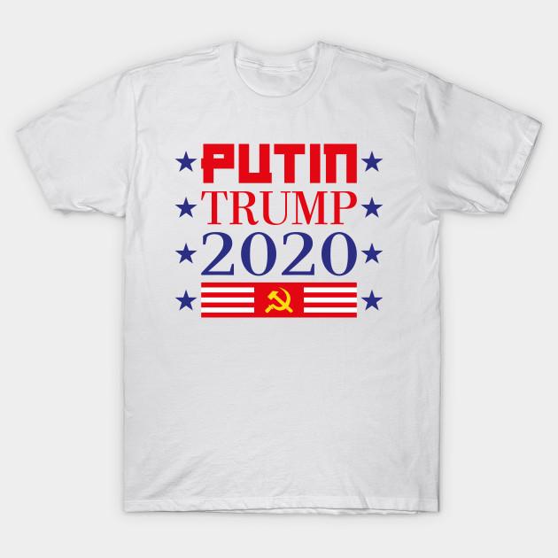 308f19d5ff366 Putin Trump 2020 Russia Funny Anti Baby Impeach Shirt - Trump - T ...