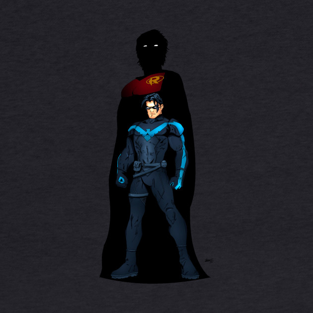 in the past (nightwing)