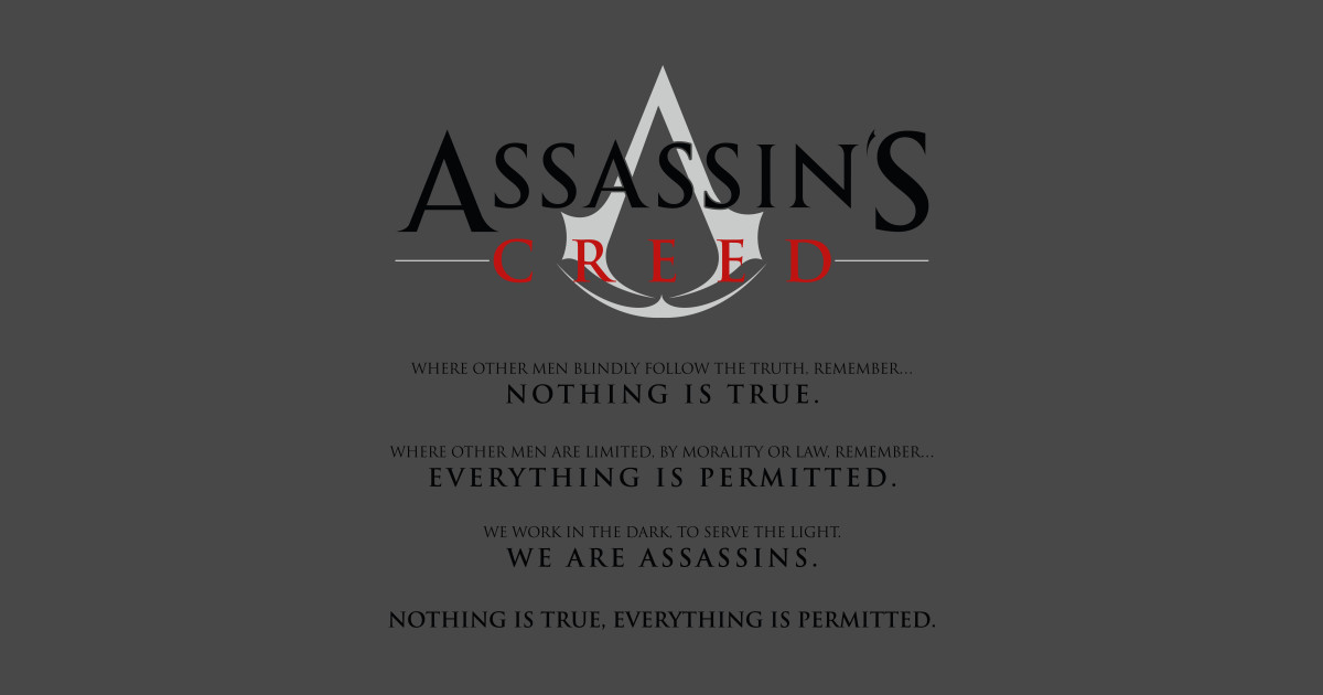 Assassins Creed Oath - Templars - T-Shirt | TeePublic
