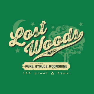 Lost Woods Moonshine t-shirts