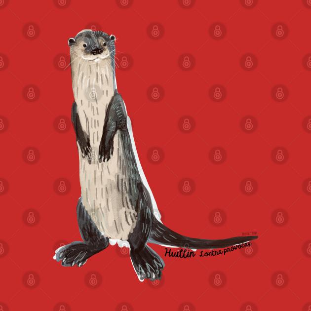 Huillin river otter 3