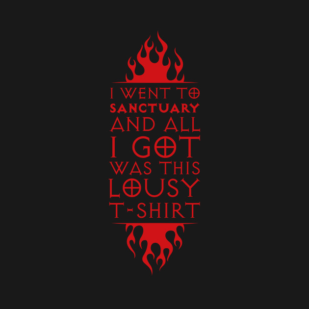 I went to Sanctuary (Sweet Red)
