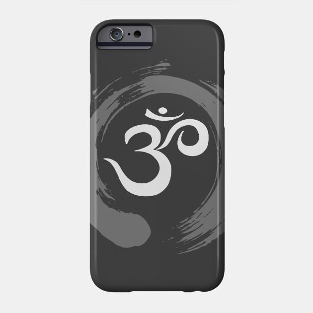 Ohm Sanskrit Symbol Zen Circle Namaste Peace Ohm Symbol Phone