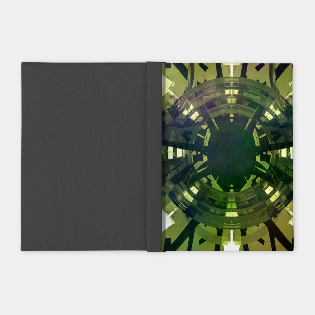 Green Futuristic Abstract Design