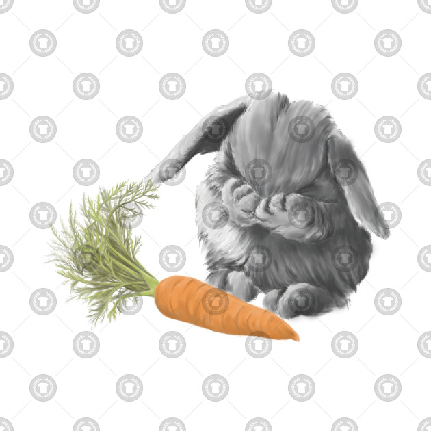e48952d8c Bunny with carrot