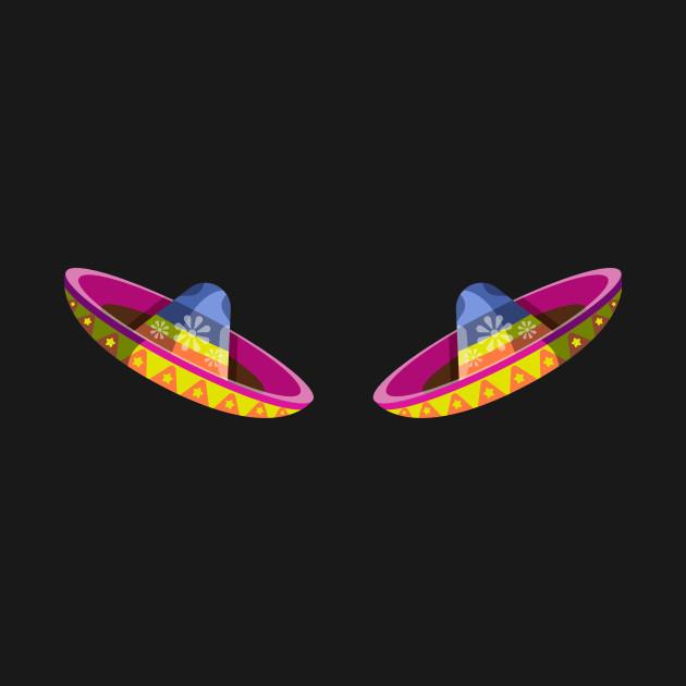Drinco Party Shirt Tequila Fiesta Food Costume Sombrero Tee