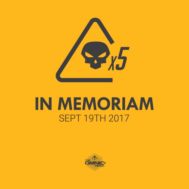 Mercy - In Memoriam - Dark print